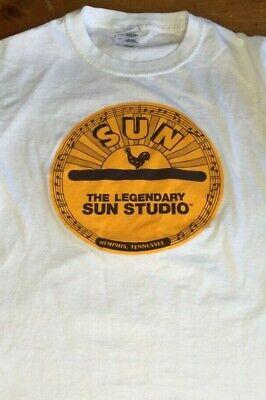 Sun Studio Memphis, TN White Tee Shirt Size Adult Small B12
