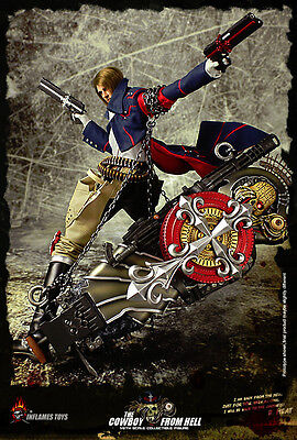 1:6 scale INFLAMES TOYS THE COWBOY FROM HELL in stock GUNGRAVE on Rummage