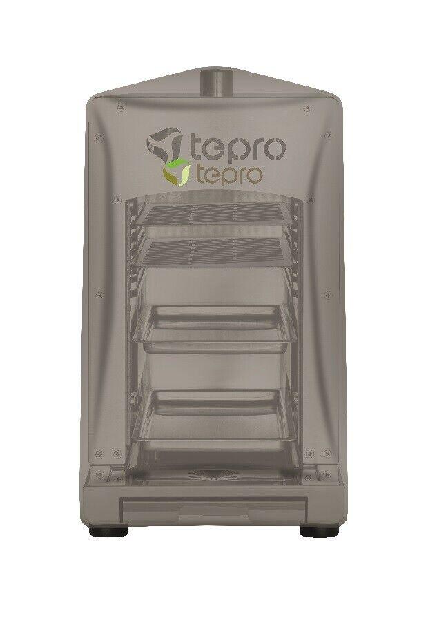 Tepro 8413 Universal Abdeckhaube für Steakgrill, anthrazit