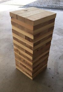 Giant Jenga To Hire Sydney. Cronulla Sutherland Area Preview