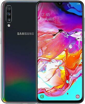 Samsung Galaxy A70 SM-A705MN/DS GSM Unlocked 128GB Cellphone Smart Phone Black