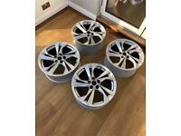 X4 Genuine 17 Inch VAUXHALL ASTRA Alloy Wheels Rims 5x105 IS44 ACAW CP114