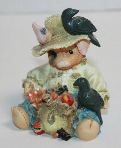 Enesco This Little Piggy Share Crow Figure 145742