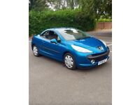 Beutiful Peugeot 207cc 1.6 cheap to run and insure