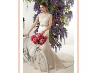 Wedding dress.New,unworn and unaltered. Stunning dress
