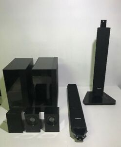 AS-IS SAMSUNG SPARE SPEAKERS SUBWOOFERS STANDS FOR PARTS