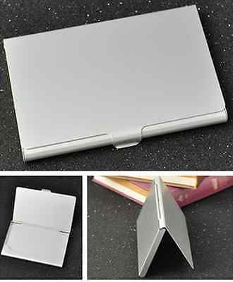 Stainless Steel Pocket Business Id Credit Card Case Metal Fine Box Holder W87