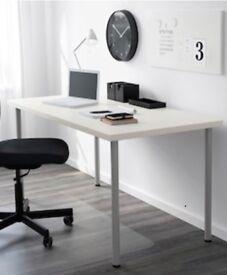 Ikea glass world map desk in bishopston bristol gumtree ikea linnmon adils table gumiabroncs Gallery