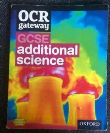 OCR GCSE SCIENCE