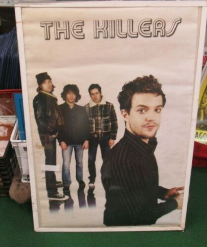 KILLERS POSTER NEW 2005 RARE VINTAGE COLLECTIBLE OOP LIVE