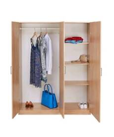 Brand New flat packed cupboard Easy transport