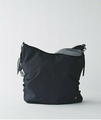 EUC~Lululemon GO-GO-GO TOTE Convertible Shoulder Gym Yoga Bag Crossbody Backpack