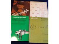 4 x Piano Music Books - various Grades 3-5
