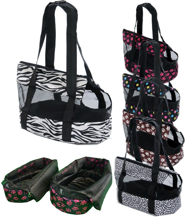 2-in-1 Hundetragetasche/Hundekörbchen, für Transport und Aufenthalt Katze / Hund