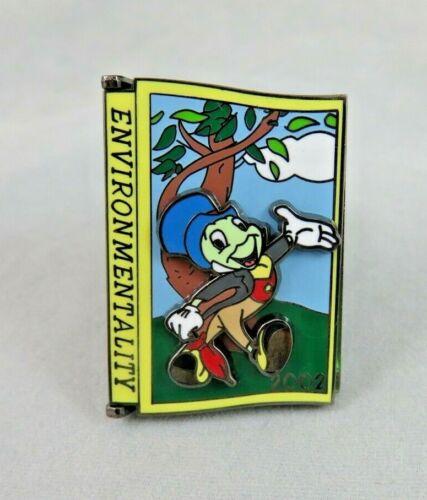 Disney Pin - Jiminy Cricket - Environmentality 2002 - Cast Member Award