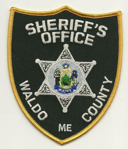 Waldo County Sheriff State Maine ME Colorful