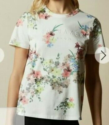 Ted Baker womens t shirt size 0/ uk 6