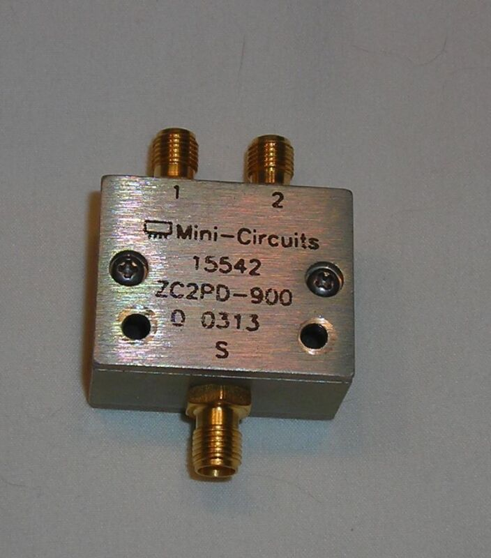 Mini-Circuits ZC2PD-900 Power Divider Input Combiner SMA-F
