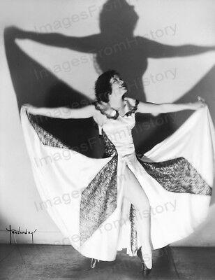 8x10 Print Irene Vermillion Beautiful Fashion Portrait by Hanshaw NY 1935 #IVA