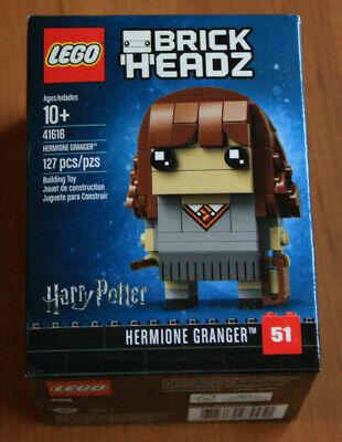 Lego Harry Potter BrickHeadz Hermione Granger 41616. New in sealed box. 127 pcs