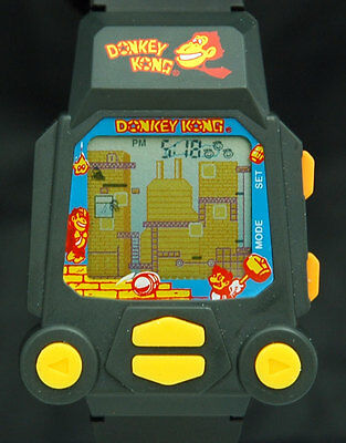 1990s Donkey Kong NINTENDO Game Watch NELSONIC N118 New Battery CLASSIC VTG RARE
