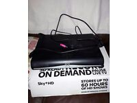Sky+ HD box 500mb, hdmi cable, power lead and original packaging. No remote