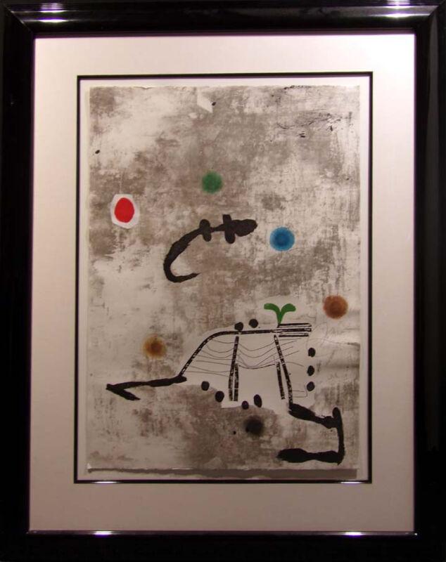 "Joan Miro""perdonnage I Estels No.55""etching Aquatint Hand Signed  Make An Offer"