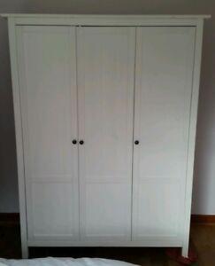 ISO Hemnes white wardrobe
