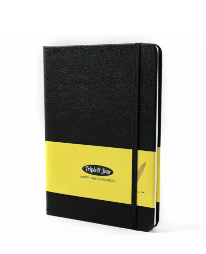 Thick Classic Unruled/Blank/Plain/Unlined Notebook Journal, TripleH Jour A5 Hard - $12.99