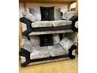 Sofas crushed velvet