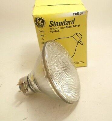 - GE 150PAR/3FL/MINE Incandescent Mine Floodlight - 150 Watt - PAR38 - Side Prong