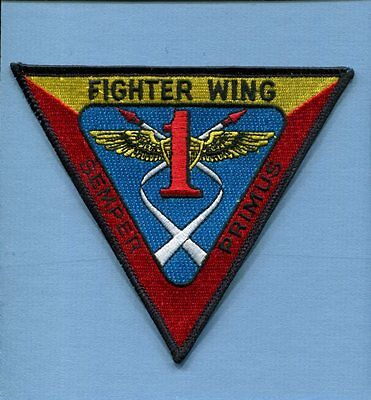 FIGHTER WING ONE FITWING 1 US NAVY GRUMMAN F-14 TOMCAT Squadron Jacket Patch