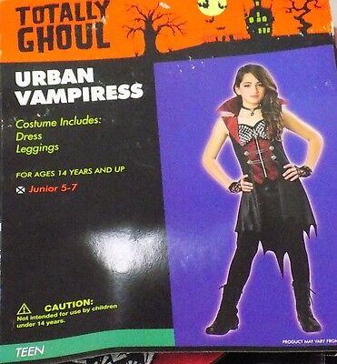NEW Urban Vampiress Dress Costume Girls Teen Junior Size 1-3 NWT - FREE - Urban Kostüm