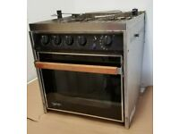 FORCE 10 Marine 4-Burner Gas Gimbal Galley Range & Oven for Boat, Yacht, RV