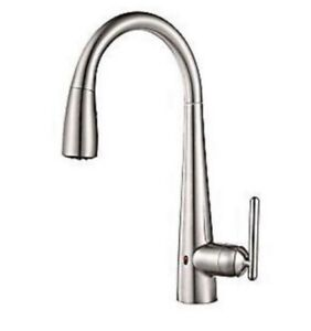 PFISTER LITA TOUCHLESS KITCHEN FAUCET BRAND NEW - BRUSHED ALUM