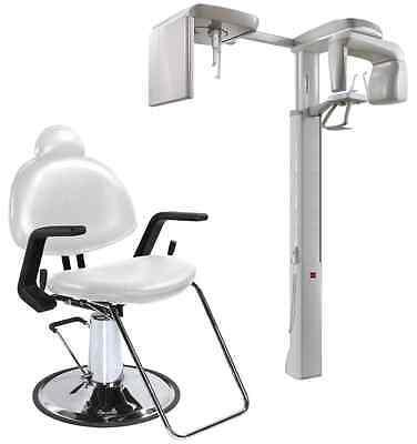 X-ray Dental Chair Black White