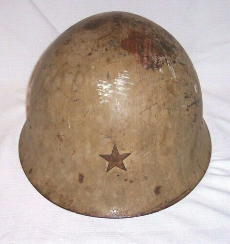 WORLD WAR TWO ORIGINAL WW2 Imperial Japanese ARMY T90 COMBAT Helmet JAPAN 90C