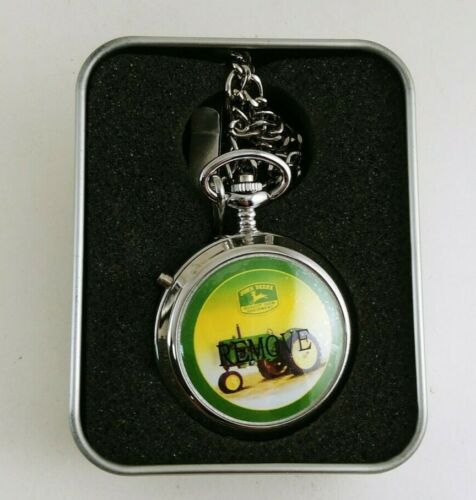 2003 JOHN DEERE SERIES EXCLUSIVE EDITION POCKET WATCH New Never Used