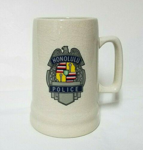 Honolulu Police Dept Mug Cup HPD Hawaii Ceramic Vintage Collectible Display Only