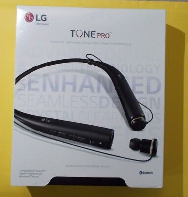 LG Tone Pro HBS-780 Bluetooth Wireless Stereo Headset Black  100% Genuine