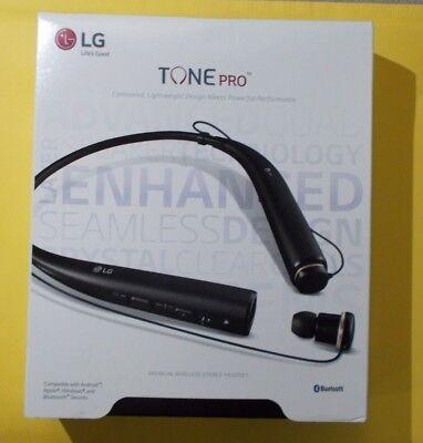 LG Tone Pro HBS-780 Bluetooth Wireless Stereo Headset Black  100% Genuine
