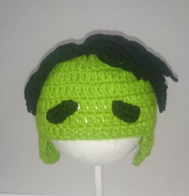Cute Toddler Kids Girl&Boy Crochet Knit beanie cap avengers hulk - Hulk Girl Costume