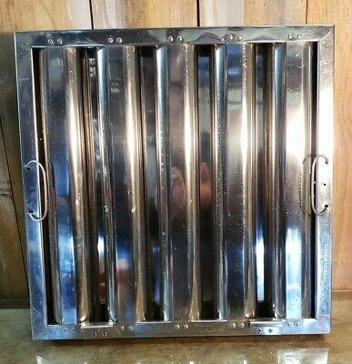 Restaurant Hood Filter Kleen-gard Stainless Steel Baffle Captive Air 16 X 16