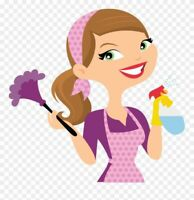 Cleaning lady available
