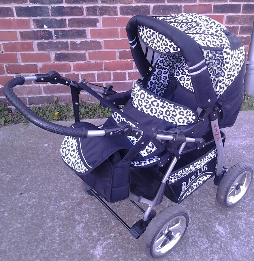 King Baby Lux Pram 3 In 1 Car Seat Carry Cot And Pram