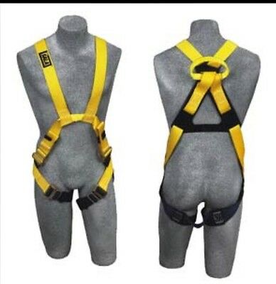 Dbisala Large Delta Arc Flash No-tangle Cross Overfull Body Style Harness