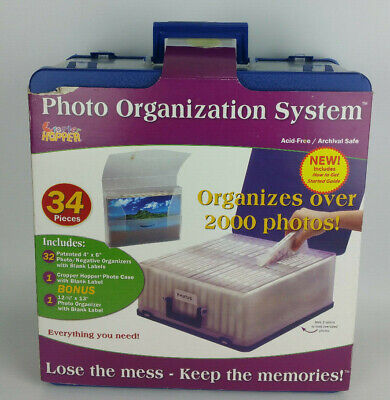NEW Cropper Hopper Photo Organizer Storage Case Acid Free Organization (Cropper Hopper Photo Storage)