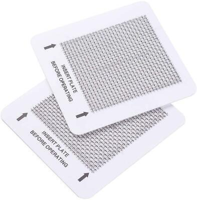 """2 Ceramic Ozone Plates for Popular Home Air Purifiers 4.5"""" Air Fresh Replacement"""