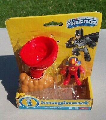 Imaginext Fisher Price Red Tornado Action Figure Batman Series New in box.