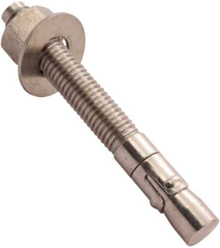 """50 Wej-it ATS3830 304 Stainless Steel ANKR-TITE Wedge Anchors 3/8"""" x 3"""""""